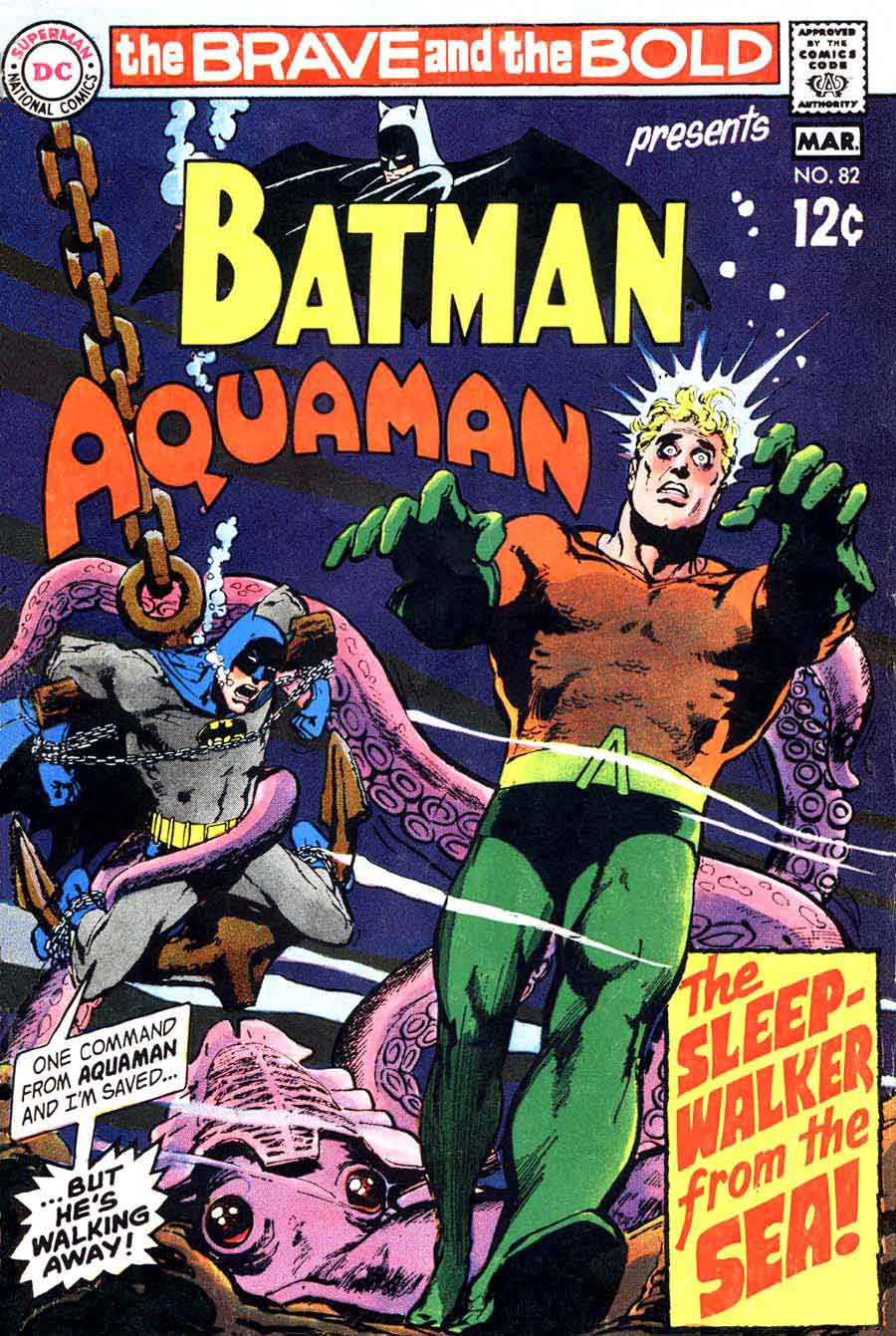 Brave and the Bold v1 #82 dc comic book cover art by Neal Adams
