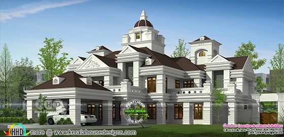 Luxury Colonial home with 6 bedrooms
