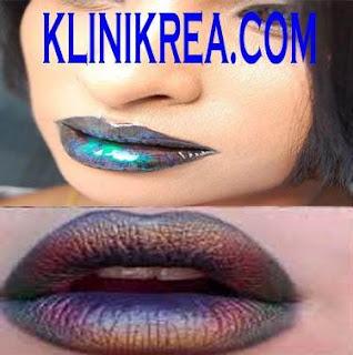 Tips Mencampur 3 Warna Lipstik Metalik Yang Menjadi Tren Kecantikan