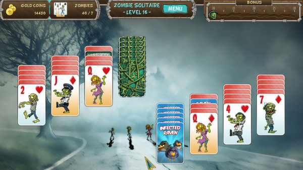 Zombie Solitaire Full Version