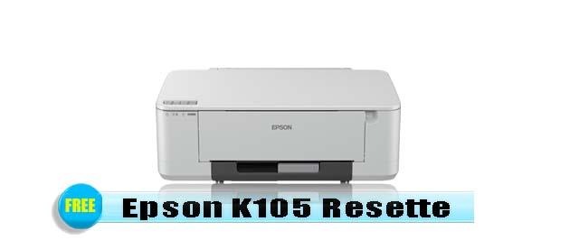Epson K105 Adjustment Program