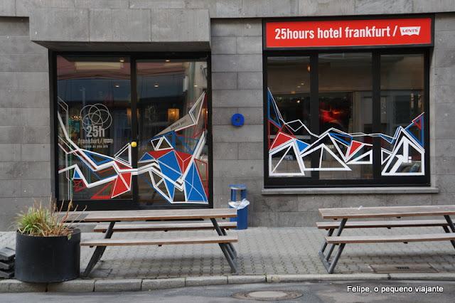 25hours Hotel by Levi's Frankfurt Alemanha
