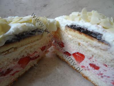 "Ciasto truskawkowe ""Promyk lata"""