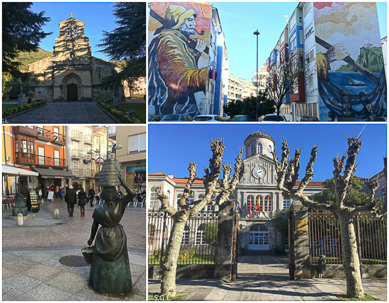 Detalles de Santoña. Iglesia Nuestra Señora de la Virgen del Puerto