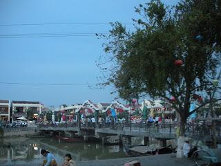 Bridge in Hoi An, Vietnam