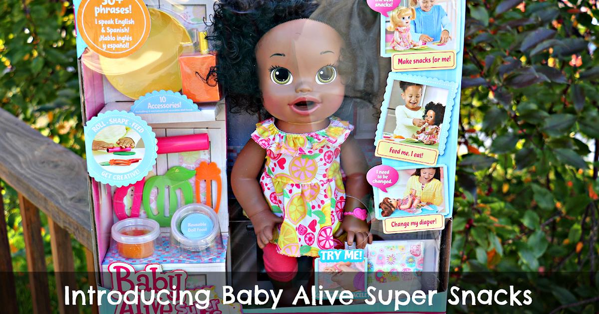 Introducing Baby Alive Super Snacks Snackin Sara