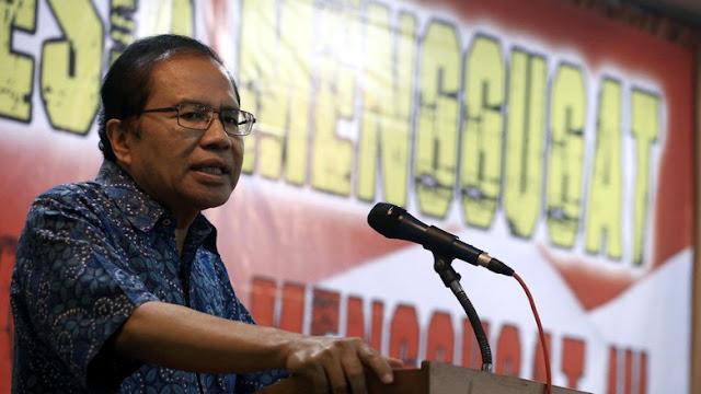 Rizal Ramli Mengklaim Bahwa Dirinya dan Anies Yang Bisa Kalahkan Jokowi, Lainnya Cuma Ecek-ecek