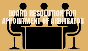 Board-Resolution-Appointment-Arbitrator
