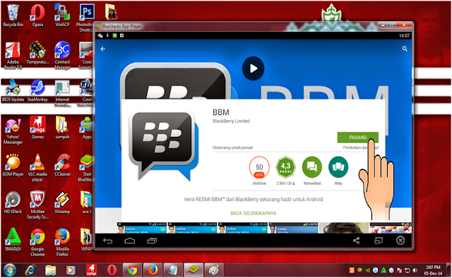 proses download bbm