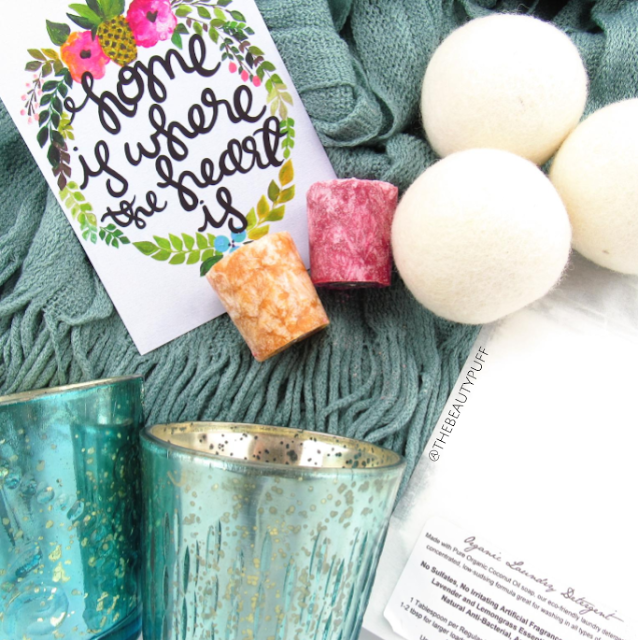 luxepineapple home december 2016 - the beauty puff