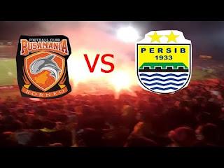 Laga Tunda Borneo FC vs Persib Bandung Digelar Oktober 2017