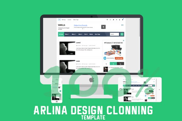Arlina Design Clonning Template