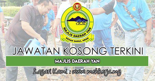 Jawatan Kosong Terkini 2018 di Majlis Daerah Yan