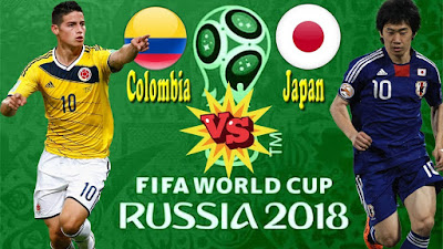 Japan vs Colombia, Colombia vs Japan, World Cup 2018, Piala Dunia 2018, Kamikaze, El Tricolor, Samurai Blue