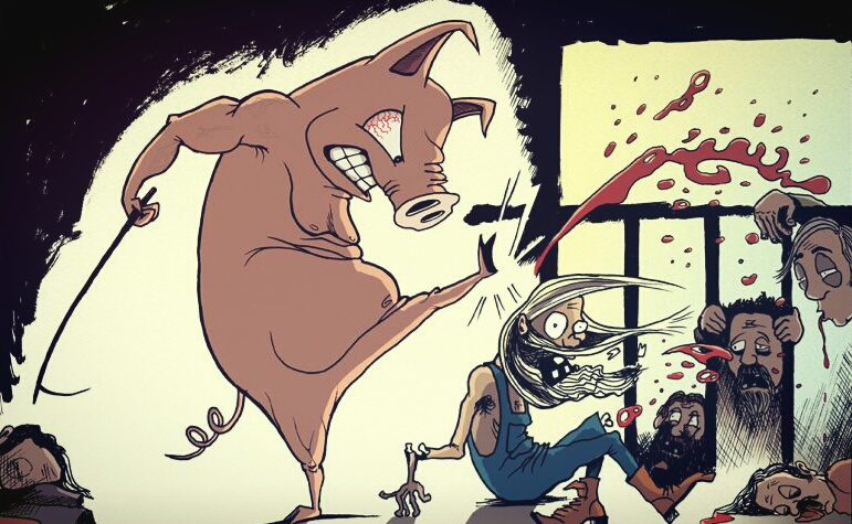 Cerdas; Pemimpin harus manusia bukan binatang!