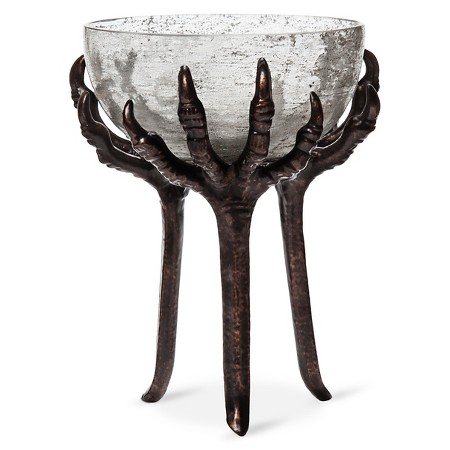 halloween tall crow feet candy bowl - Target Halloween Tree