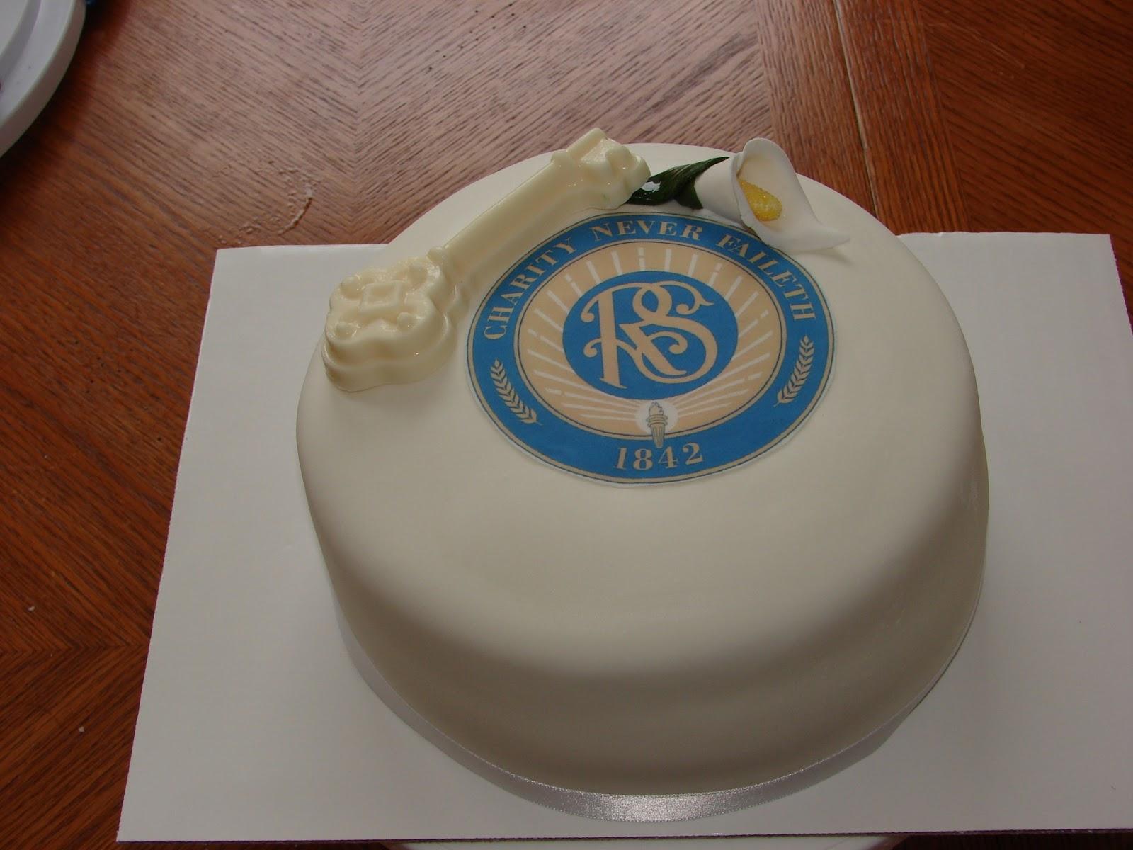 My Cake Hobby Relief Society Birthday Cake