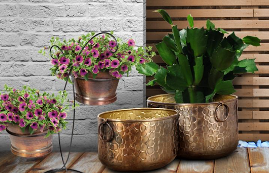 Decorative Pots And Planters For An Ultimate Portable Garden