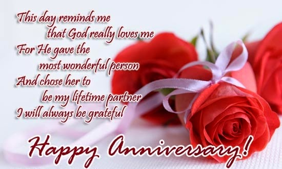 Happy wedding anniversary messages for wife with cute love images