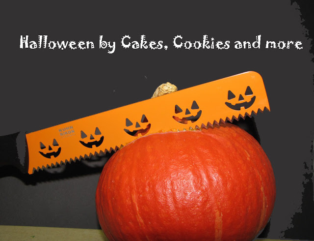 Halloween auf Cakes, Cookies and more