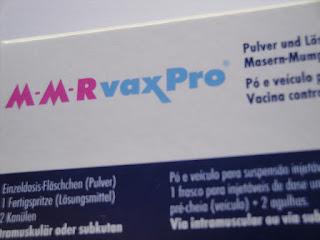 VASPR - Vacina do sarampo, papeira (caxumba) e rubéola