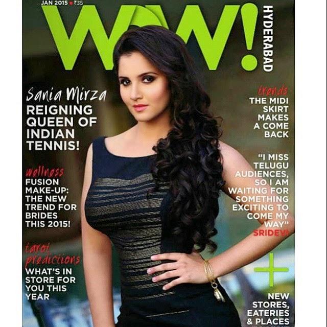 sania , sania mirza , magazine , bolly , bolly ,wood wow , black dress , tennis , tennis ,player india ,, Sania Mirza Wow magazine Hot Scans