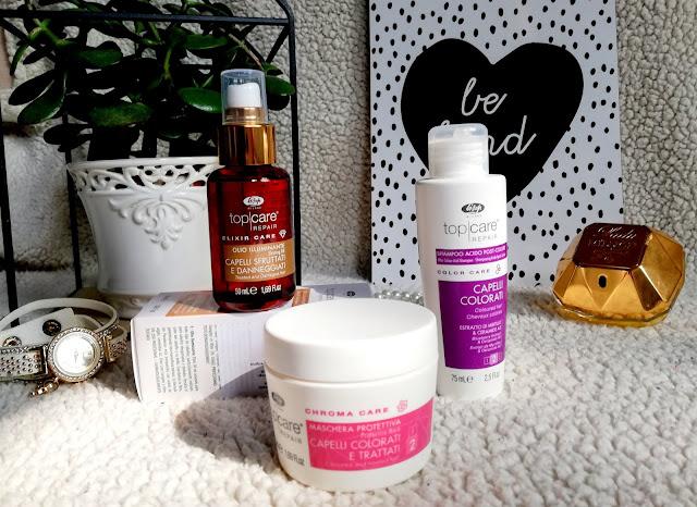 LISAP MILANO Top Care Repair. | Kosmetyki do włosów po koloryzacji