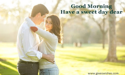 Romantic good morning images for girlfriend - have a sweet day