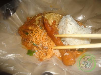 Makan Mie Campur Nasi Itu Bahaya Loh