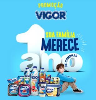 Cadastrar Promoção Vigor 2016 Sua Família Merece 1 Ano Compras