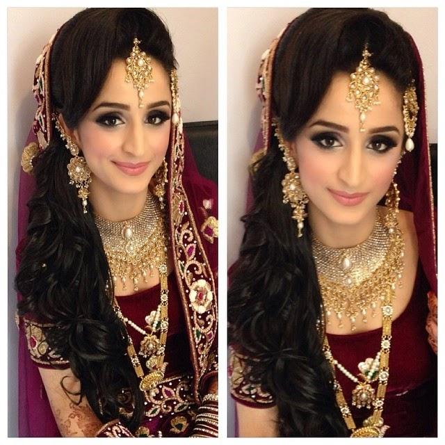 Hindu Bridal Hairstyles 14 Safe Hairdos For The Modern: Aamir Naveed Bridal Hairstyles 2015