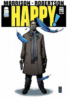 Happy! #1  by Grant Morrison, Darick Robertson, Richard P. Clark, Simon Bowland, Michael Allred