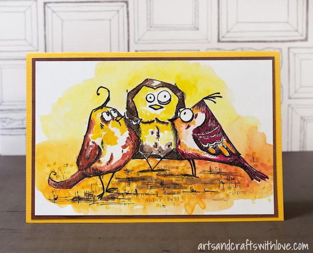 Cardmaking: Bird Crazy!