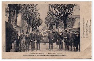 Cartes postales ancienne : L'avenue de l'église