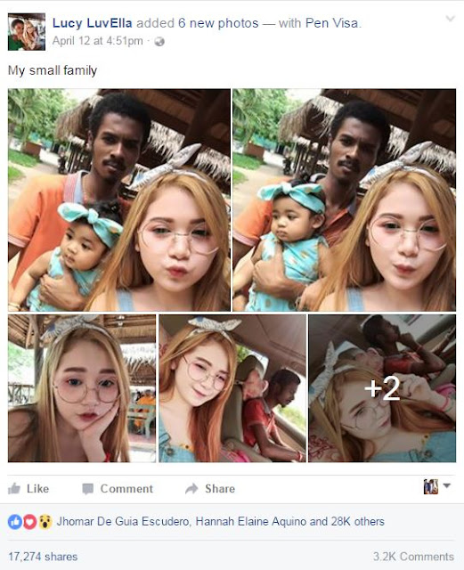 A Beautiful Girl Posted Her Picture With Her Husband and Daughter, You Will Not Believe How Netizens Reacted on It! Horrible!