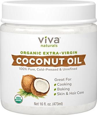 Organic Cold-Pressed Coconut Oil - Viva Naturals