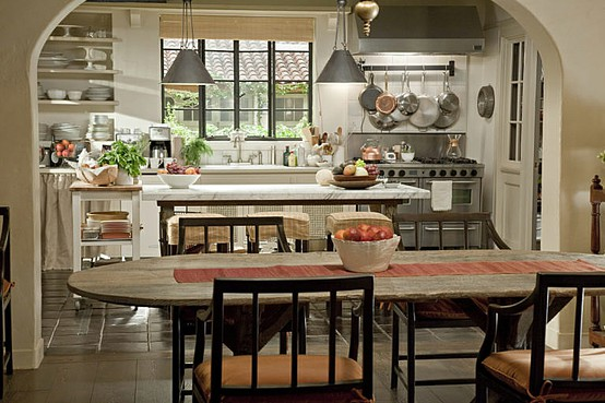 image result for It's Complicated movie Meryl Streep in farmhouse cottage kitchen