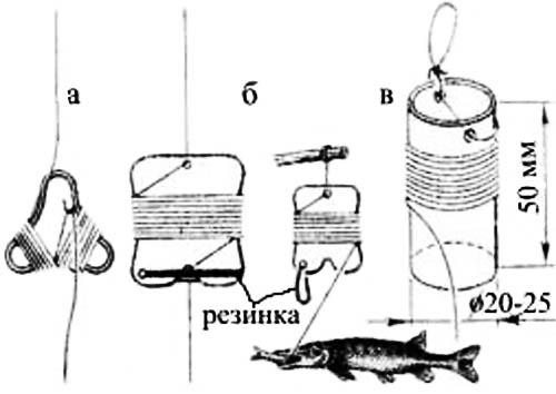 как изготовить жерлицы для ловли щуки летом