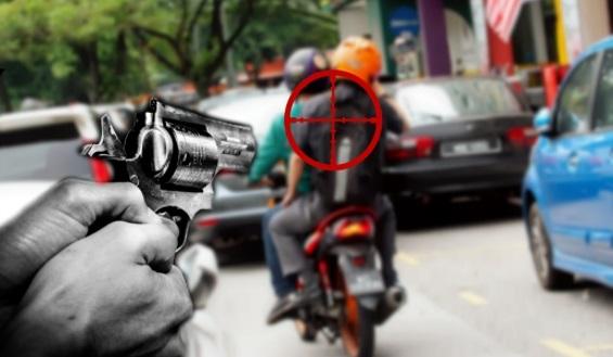Peragut Cedera Ditembak Pengawal Peribadi Datuk Selepas Ragut Rantai Emas Seorang Wanita