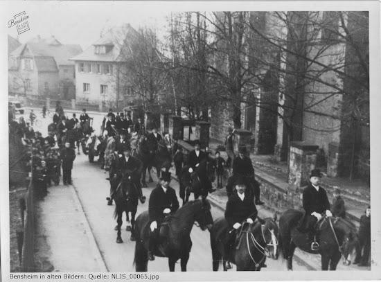 Nachlass Joseph Stoll lfd. No. 65 - Einzug der Glocken 13.02.1948 - Kirchbergstraße