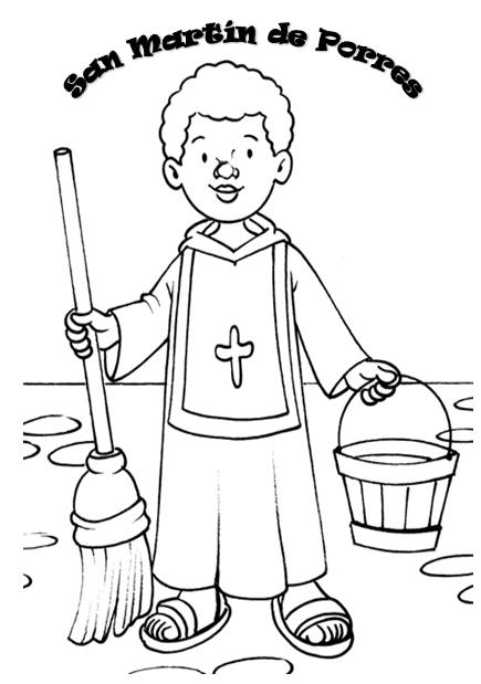 recursos para educación inicial: SAN MARTÍN DE PORRES PARA