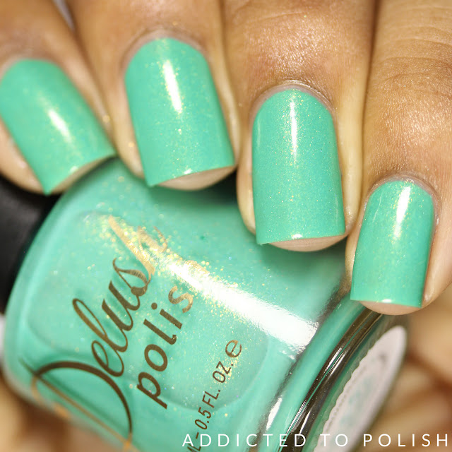 Delush Polish Splash Me If You Can Nautical by Nature Swatches and Review