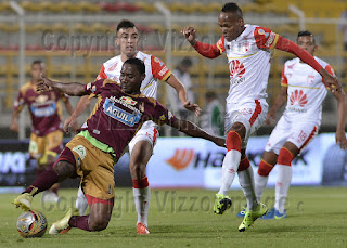 Deportes Tolima vs Independiente Santa Fe
