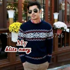 sweater-ap biru
