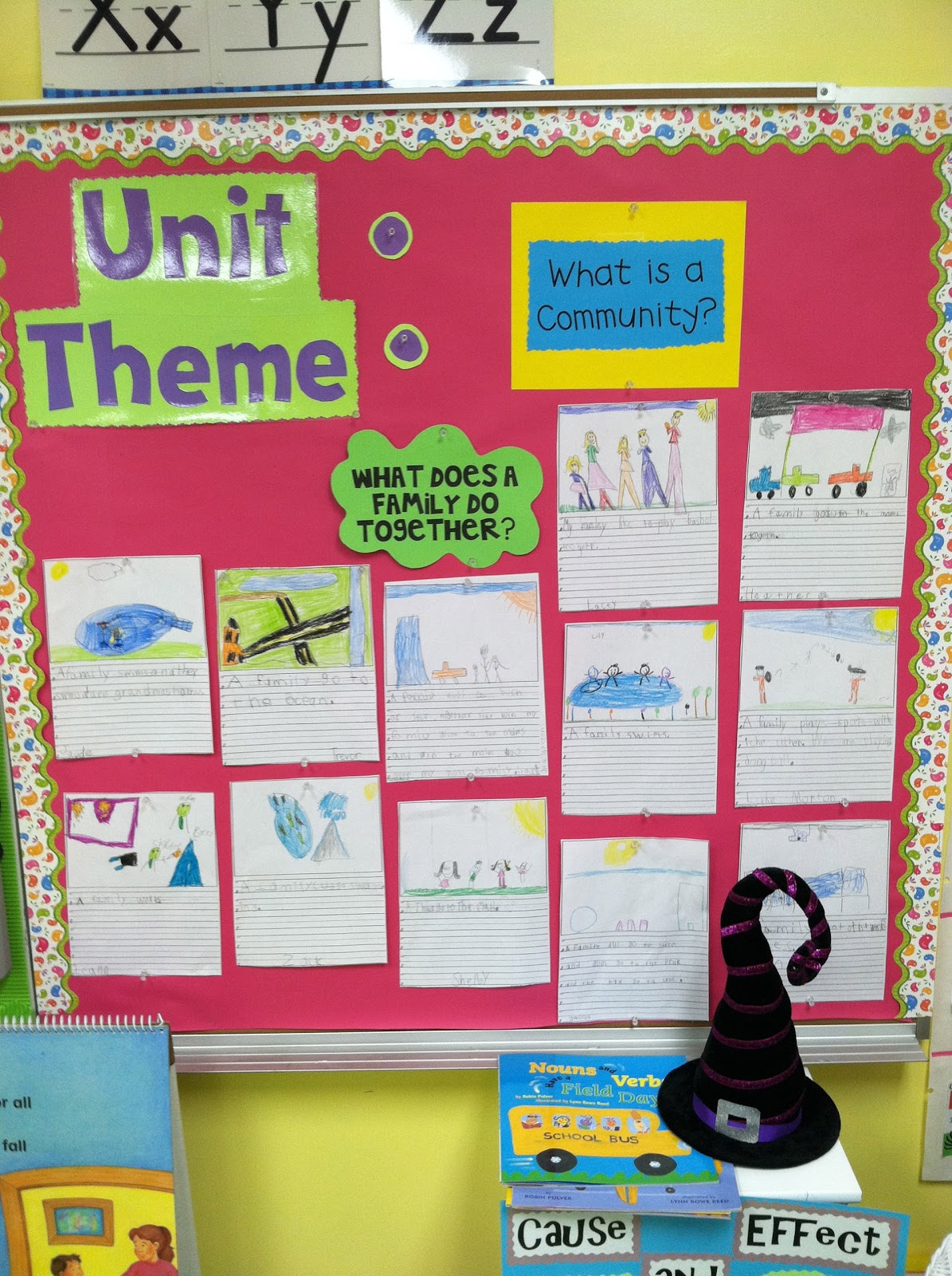 Life In First Grade Unit 2 Reading Street Concept