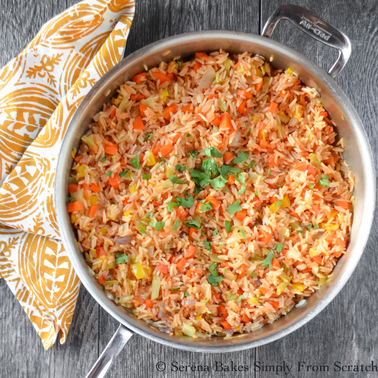 Restaurant Style Mexican Rice a perfect addition to you Mexican themed dinner.