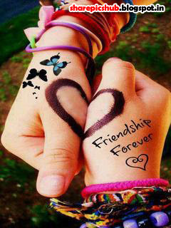 Friendship Forever Cute Wallpaper For Facebook | Sweet ...
