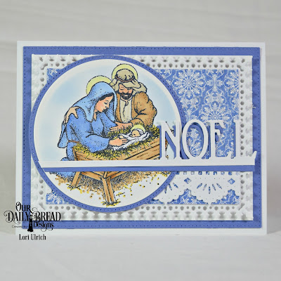 Our Daily Bread Designs Stamp Set: Our Savior's Birth, Our Daily Bread Designs Paper Collection: Christian Faith, Our Daily Bread Designs Custom Dies: Pierced Rectangles, Lavish Layers, Rectangles, Beautiful Borders, Circles, Noel Border