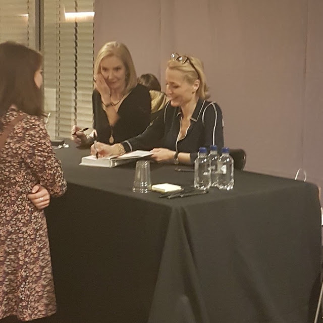 Gillian Anderson Jennifer Nadel Book Signing