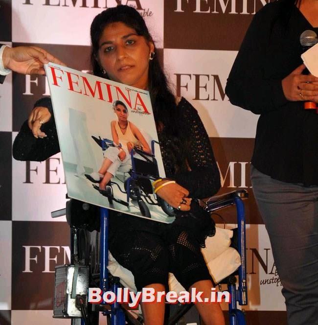 Filmmaker Divya Arora, Huma Qureshi Pics in Red Top, White Skirt for Femina Magazine Launch